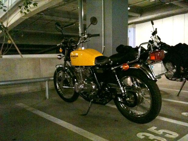 羽田の駐輪場