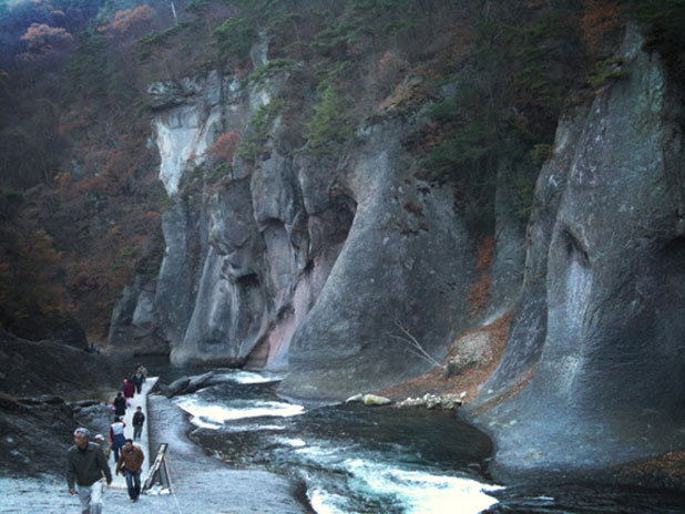 吹割の滝8