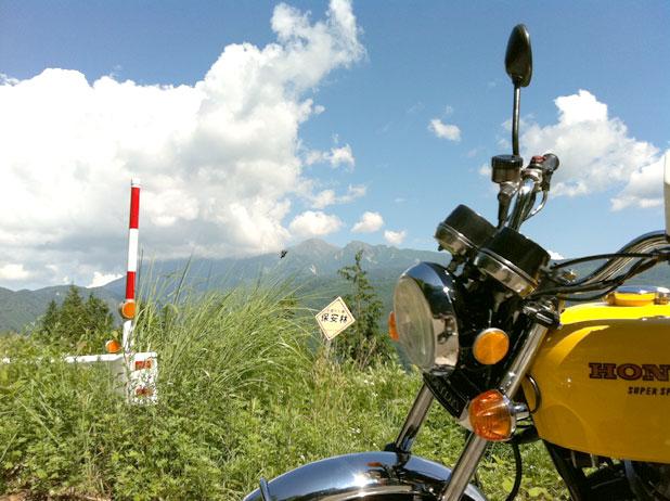 御嶽山とヨンフォア