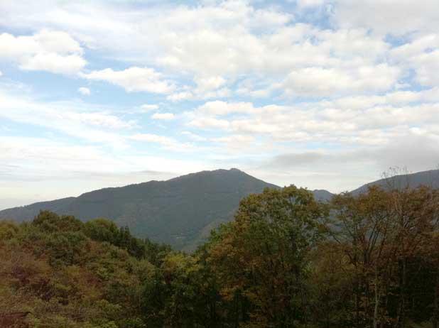定峰峠からの眺め